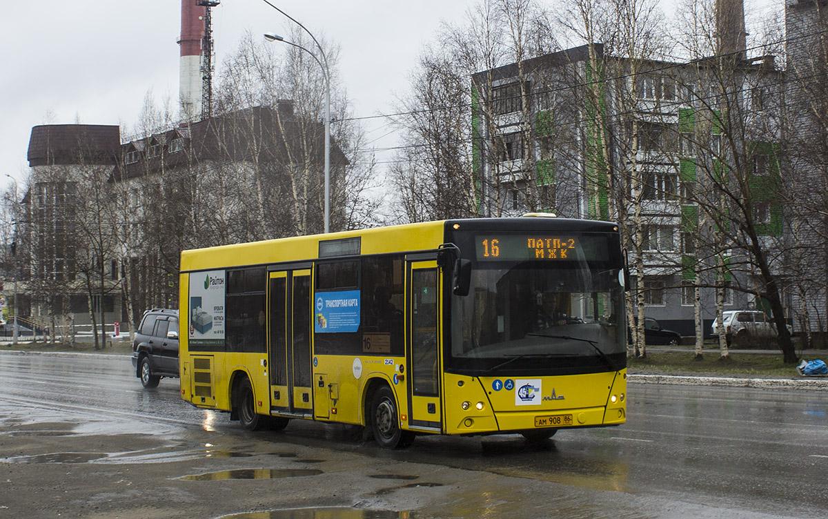 Нижневартовск. МАЗ-206.085 ам908