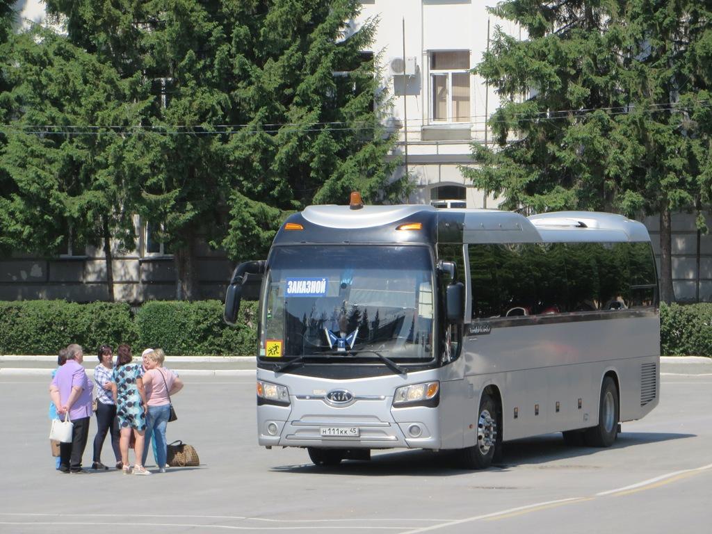 Курган. Kia Granbird н111кк