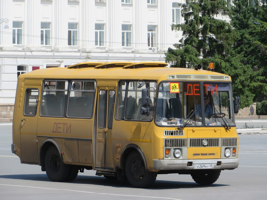 Курган. ПАЗ-32053-70 о269ку