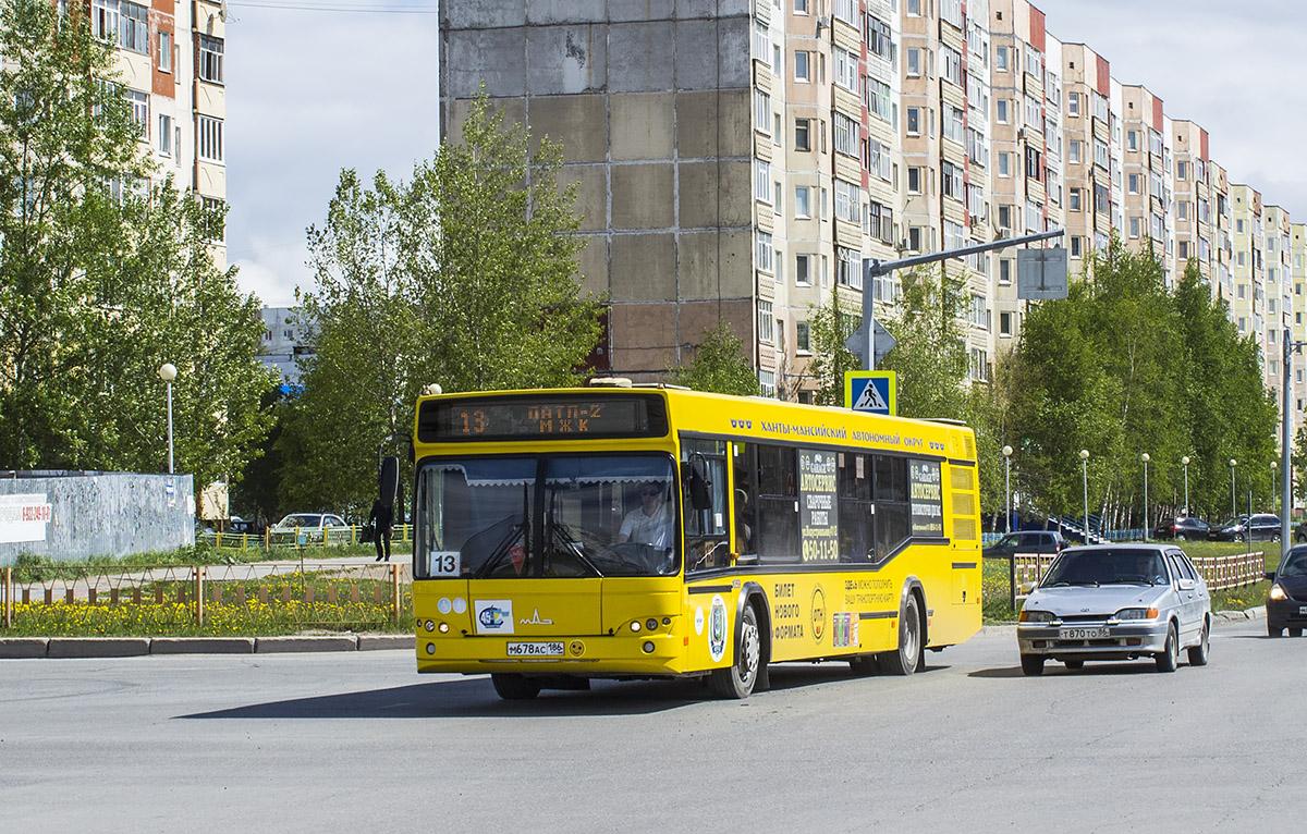 Нижневартовск. МАЗ-103.469 м678ас