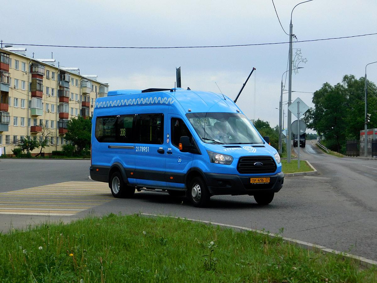 Московская область. Нижегородец-2227 (Ford Transit FBD) тр416