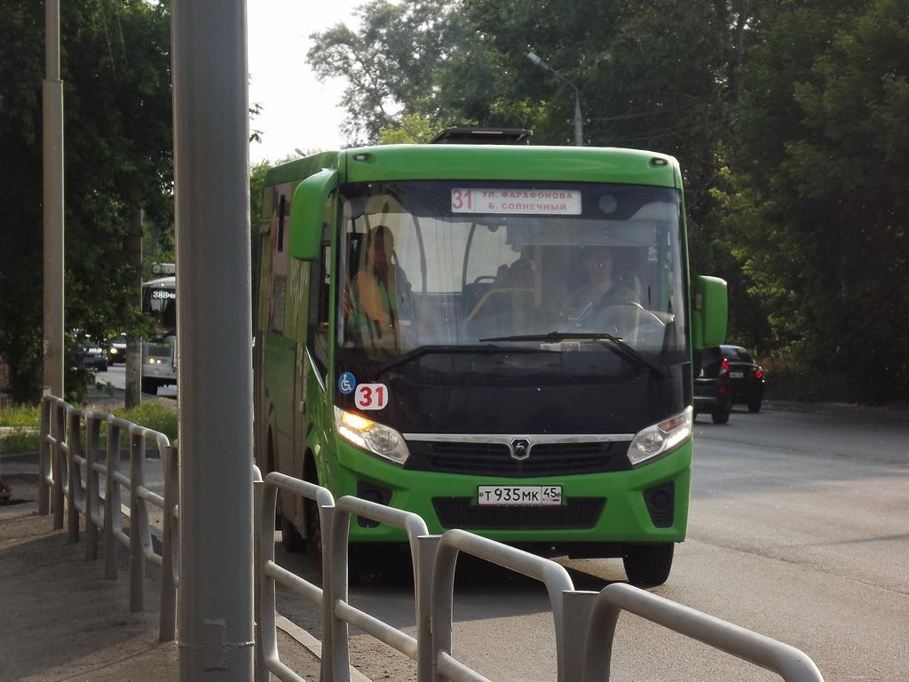 Курган. ПАЗ-320435-04 т935мк
