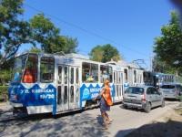 Евпатория. Tatra KT4SU №033, Tatra KT4SU №045