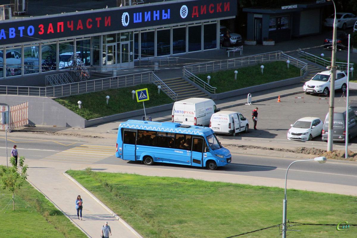 Москва. Нижегородец-VSN700 (Iveco Daily) м200те