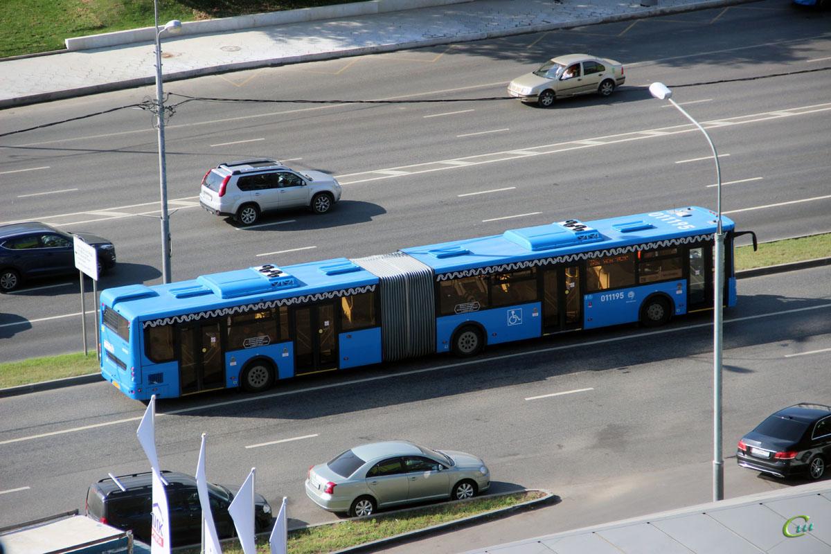 Москва. ЛиАЗ-6213.65 оо726