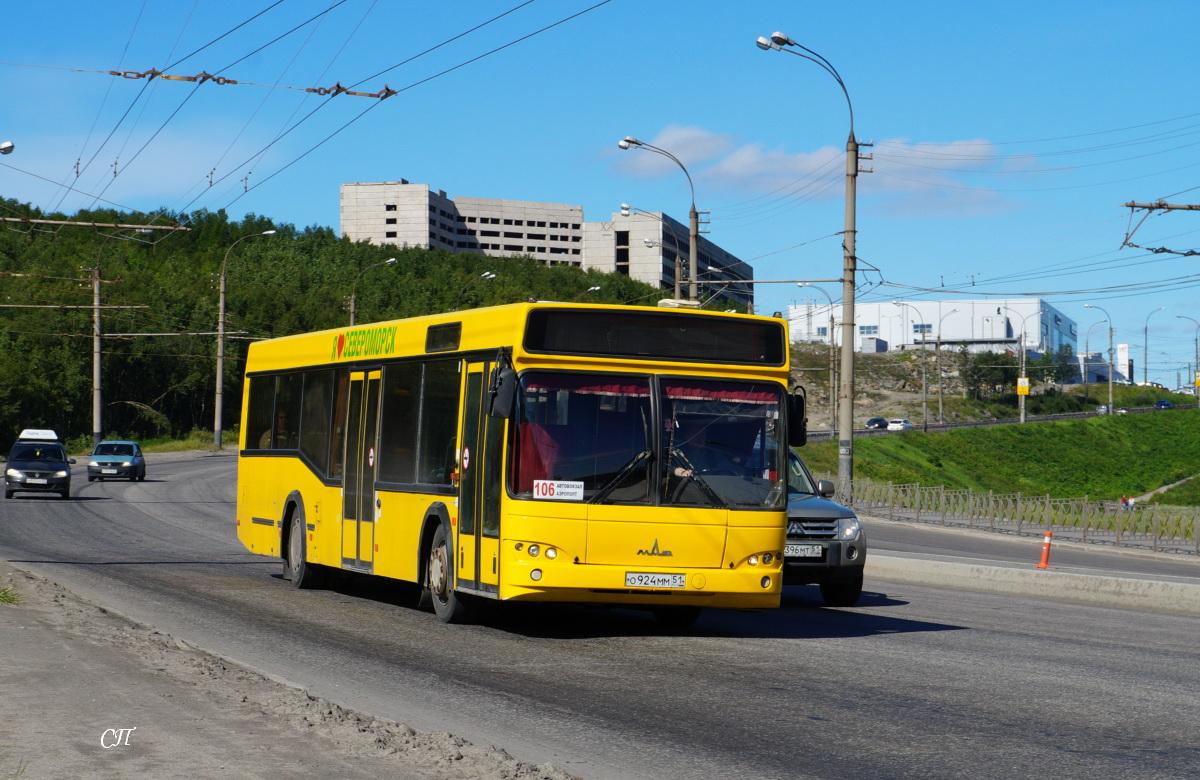 Мурманск. МАЗ-103.569 о924мм