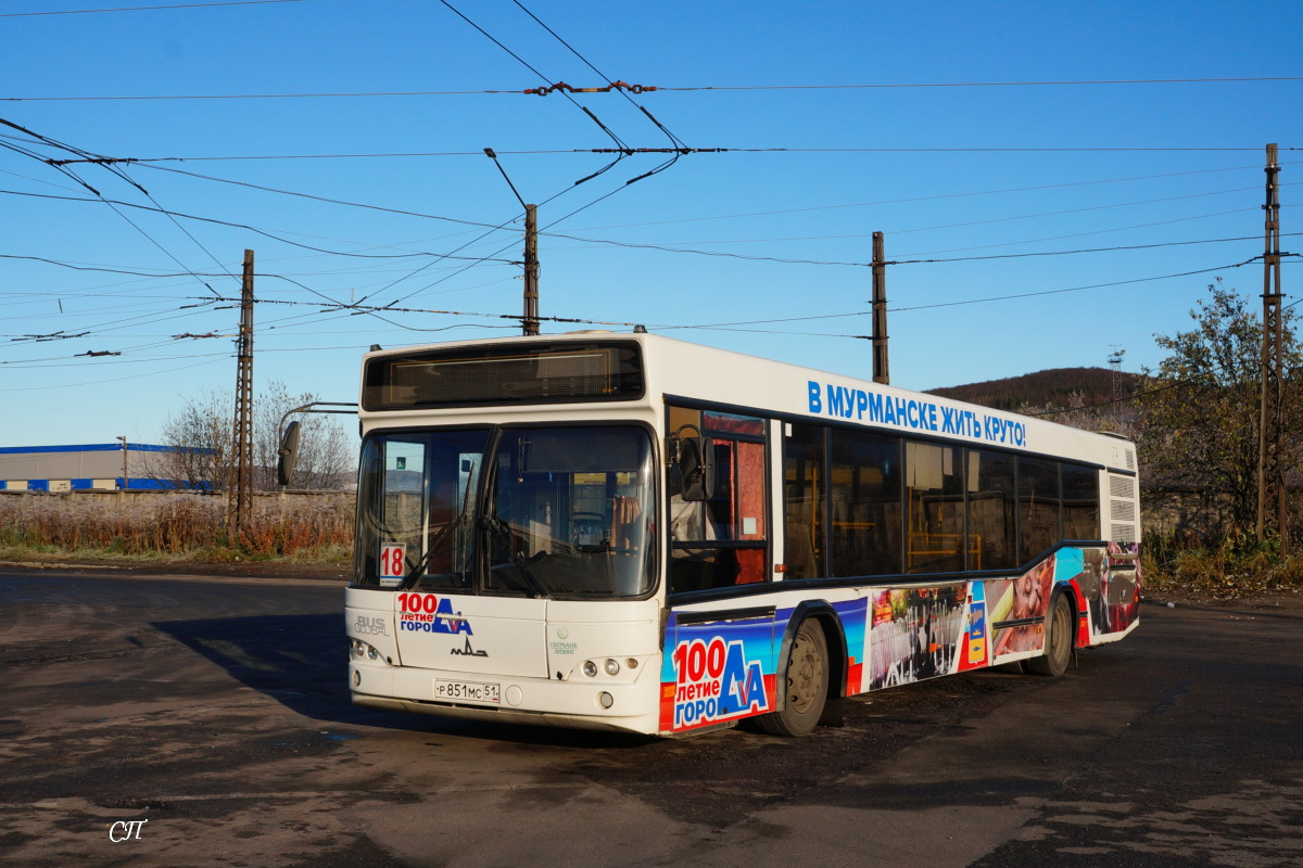 Мурманск. МАЗ-103.485 р851мс