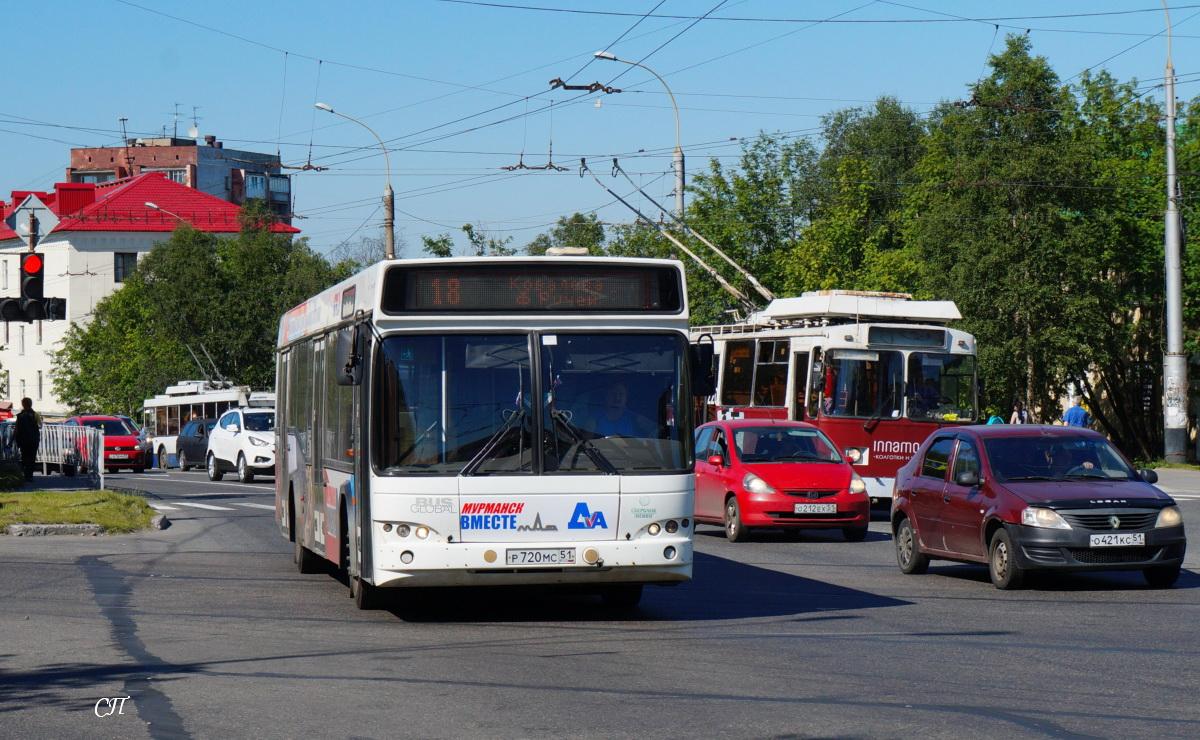 Мурманск. МАЗ-103.485 р720мс