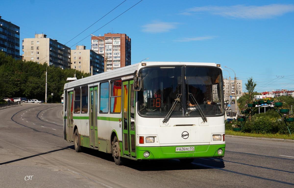Мурманск. ЛиАЗ-5256.26 р626мс