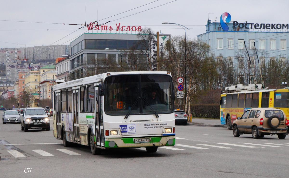 Мурманск. ЛиАЗ-5256.26 р277мс