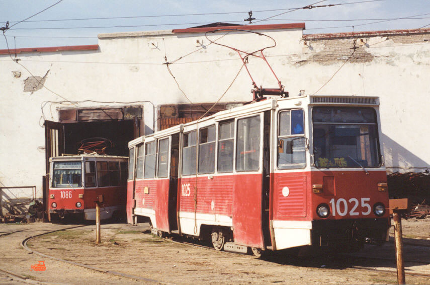 Дзержинск (Россия). 71-605 (КТМ-5) №1025, 71-605А (КТМ-5А) №1086