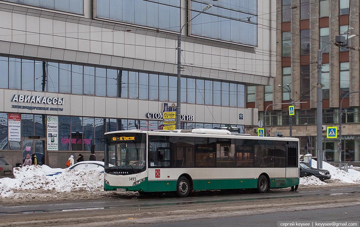 Санкт-Петербург. Volgabus-5270.00 у706рт