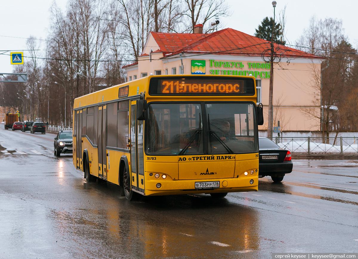 Санкт-Петербург. МАЗ-103.485 в703рр