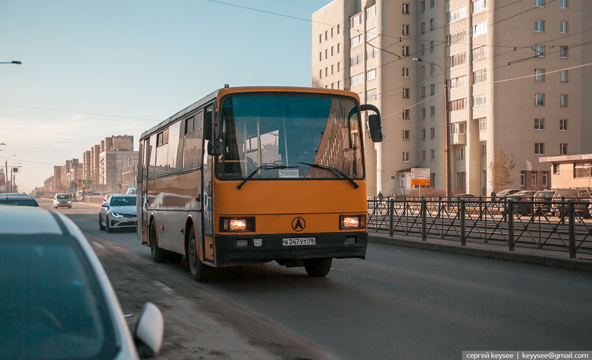 Санкт-Петербург. ЛАЗ-А1414 в247ут