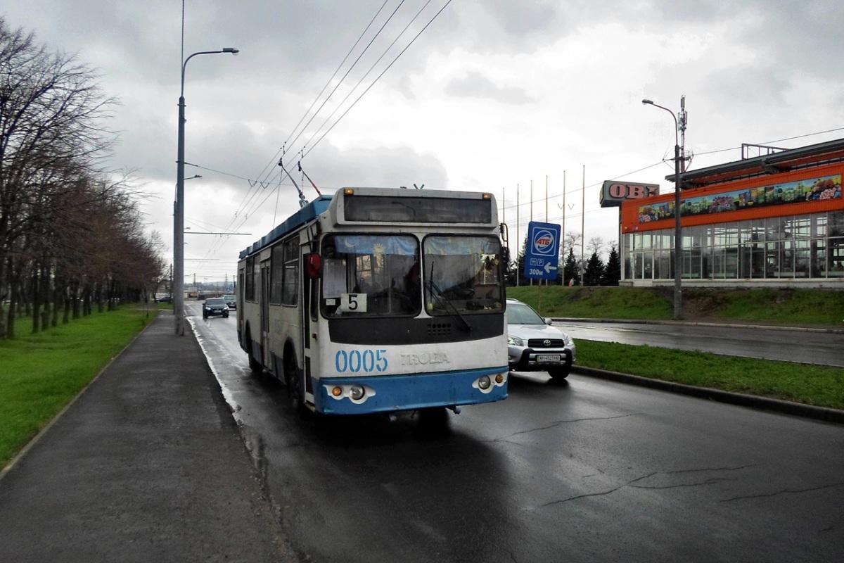 Мариуполь. ЗиУ-682Г-016.02 (ЗиУ-682Г0М) №0005