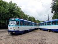 Рига. Tatra T3A №30122, Tatra T3A №30874, Tatra T3A №30885