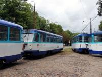 Рига. Tatra T3A №30122, Tatra T3A №30133, Tatra T3A №30885