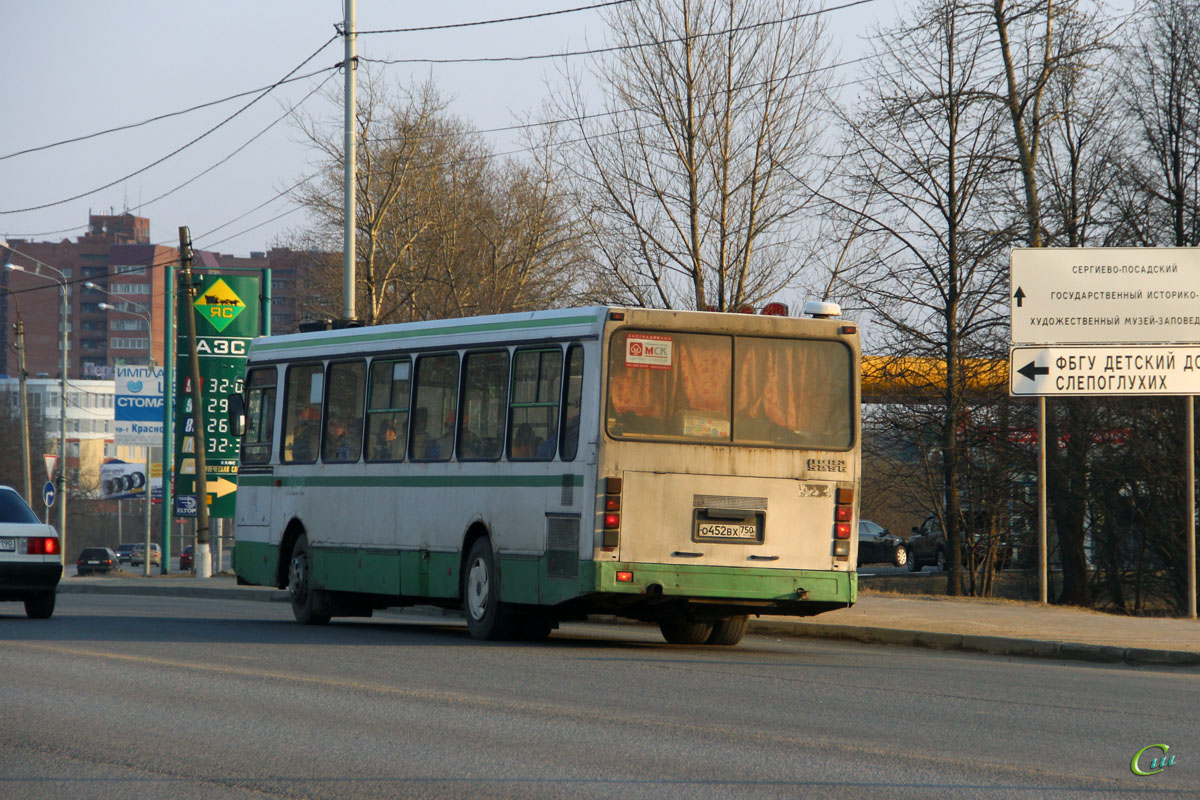 Сергиев Посад. ЛиАЗ-5256.25-11 о452вх