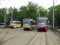 Москва. 71-619К (КТМ-19К) №2026, 71-619А (КТМ-19А) №2155, Tatra T3SU №2990