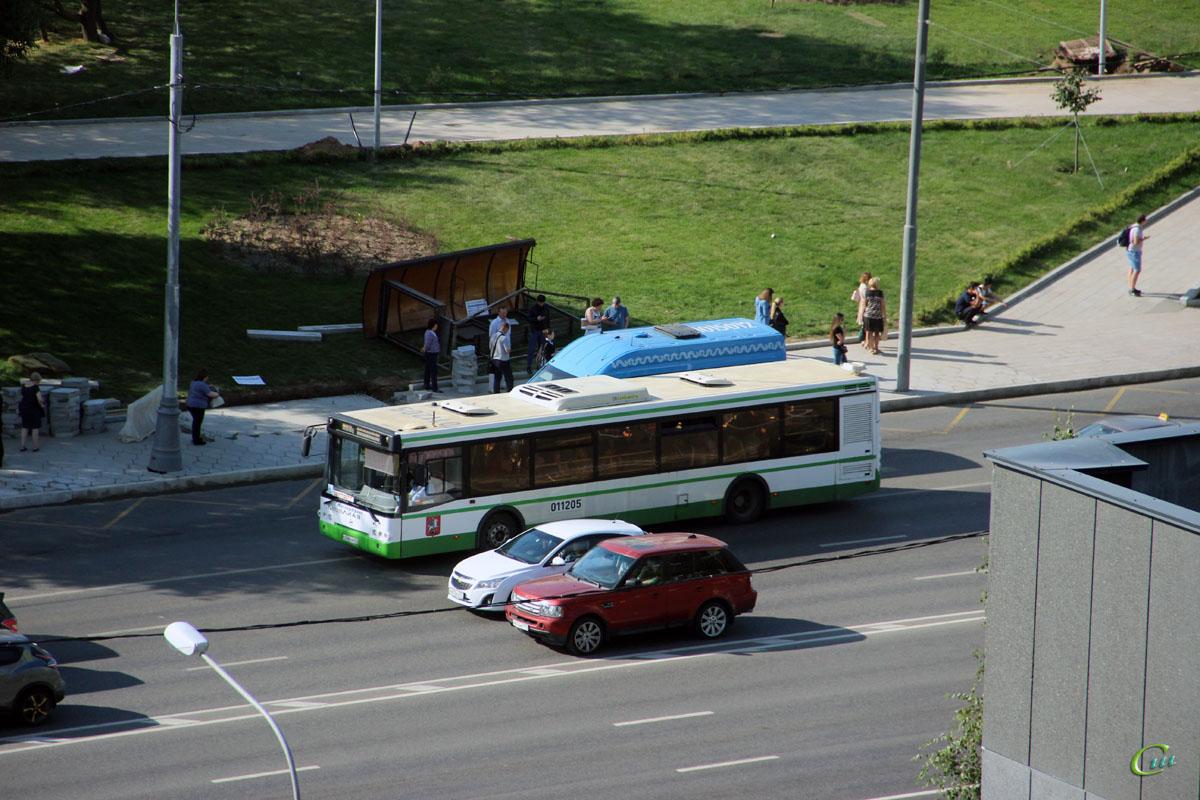 Москва. ЛиАЗ-5292.22 о348хм