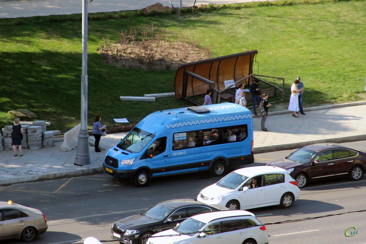 Москва. Sollers Bus (Ford Transit FBD) ху929
