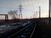 Магнитогорск. Вид в сторону станции Площадка Магнитогорского металлургического комбината