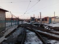 Магнитогорск. Выезд из трамвайного депо № 1 на улицу Чкалова