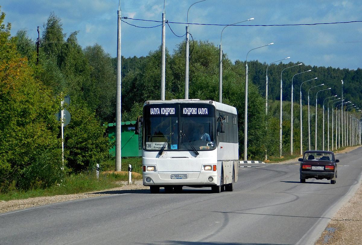 Калуга. ЛиАЗ-5256.58 р988ко