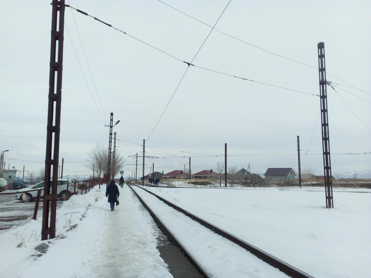 Магнитогорск. Конечная станция Сиреневый проезд