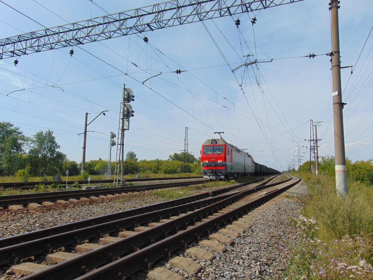 Челябинск. 2ЭС6-878