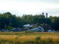 Воротынск. Вертолёты Ми-10К RA-04127 и Ми-8