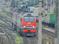 Челябинск. 2ТЭ25КМ-0360