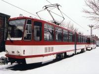 Лиепая. Tatra KT4D №244, Tatra KT4D №247