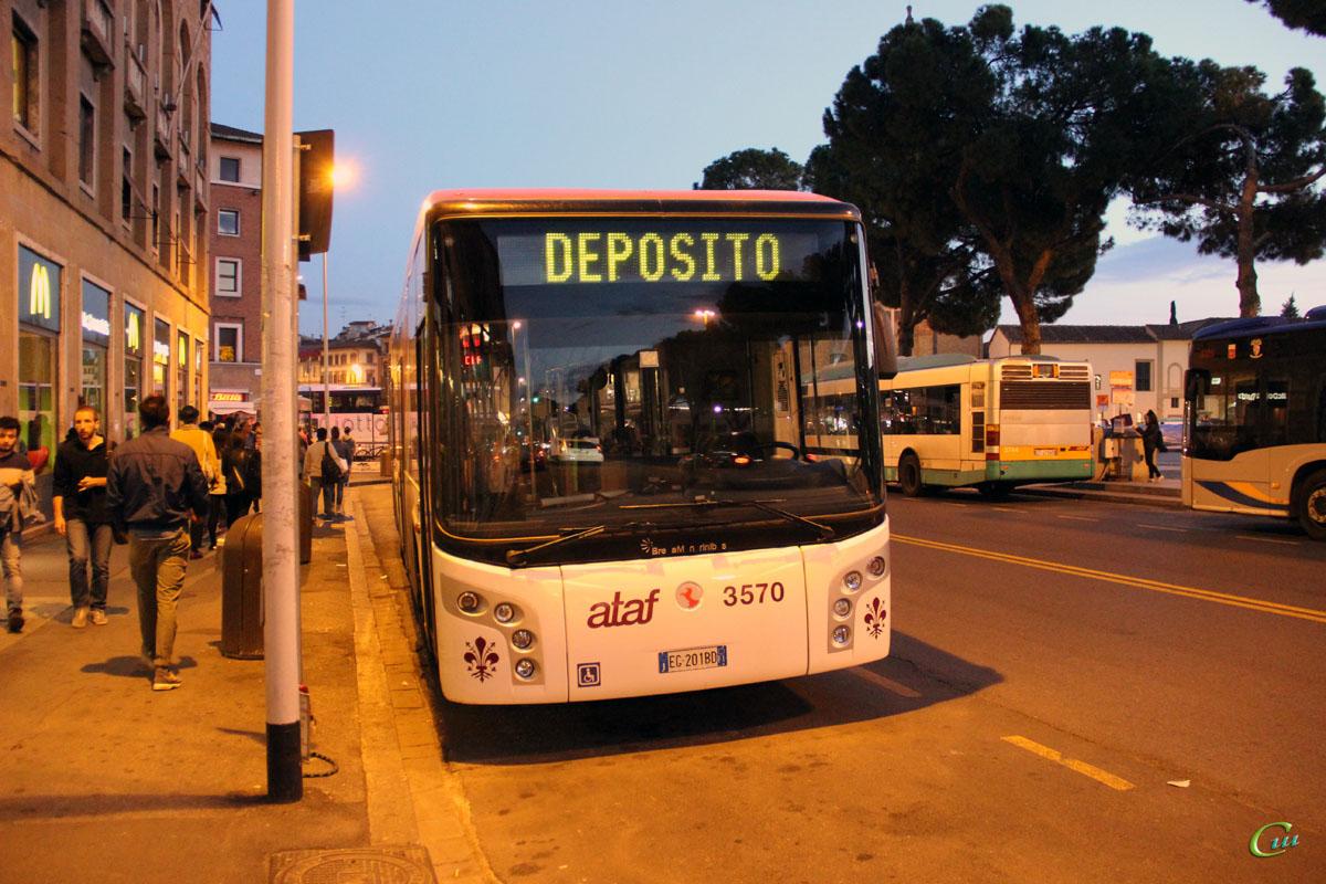 Флоренция. BredaMenarinibus Avancity+ L CNG EG 201BD