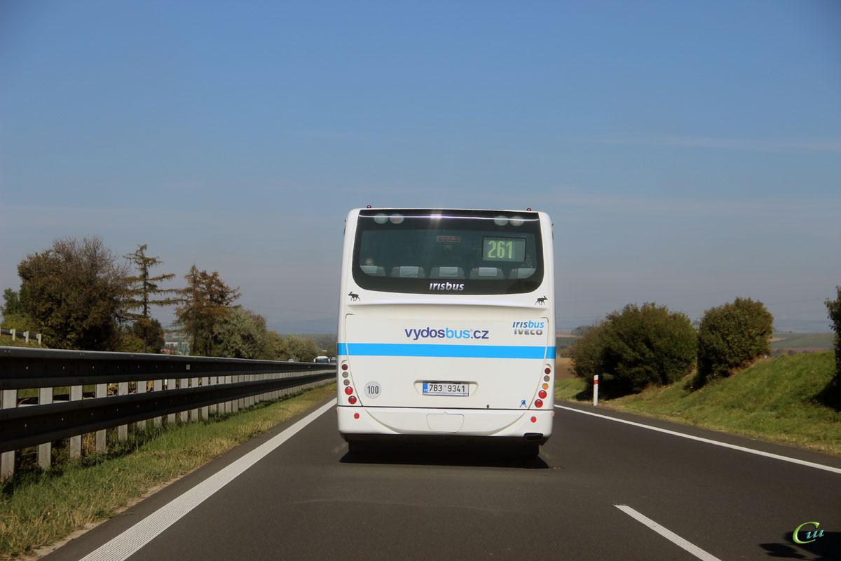 Брно. Irisbus Crossway LE 12.8M 7B3 9341