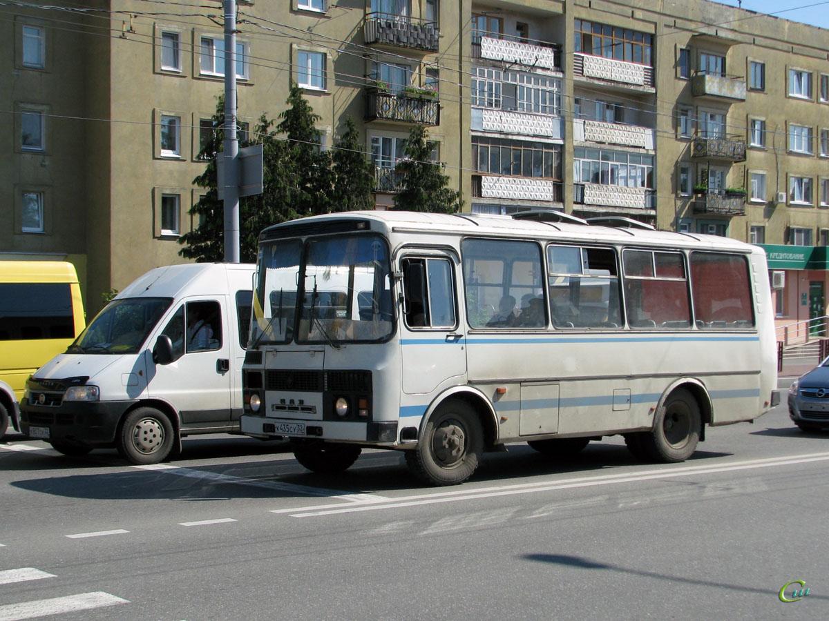 Брянск. ПАЗ-3205-110 к435су, FIAT Ducato 244 к807ск