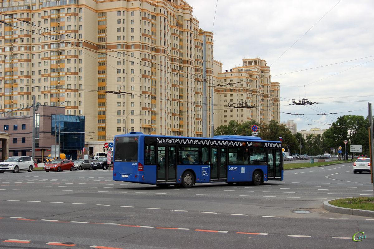 Москва. Mercedes-Benz O345 Conecto LF с613мт