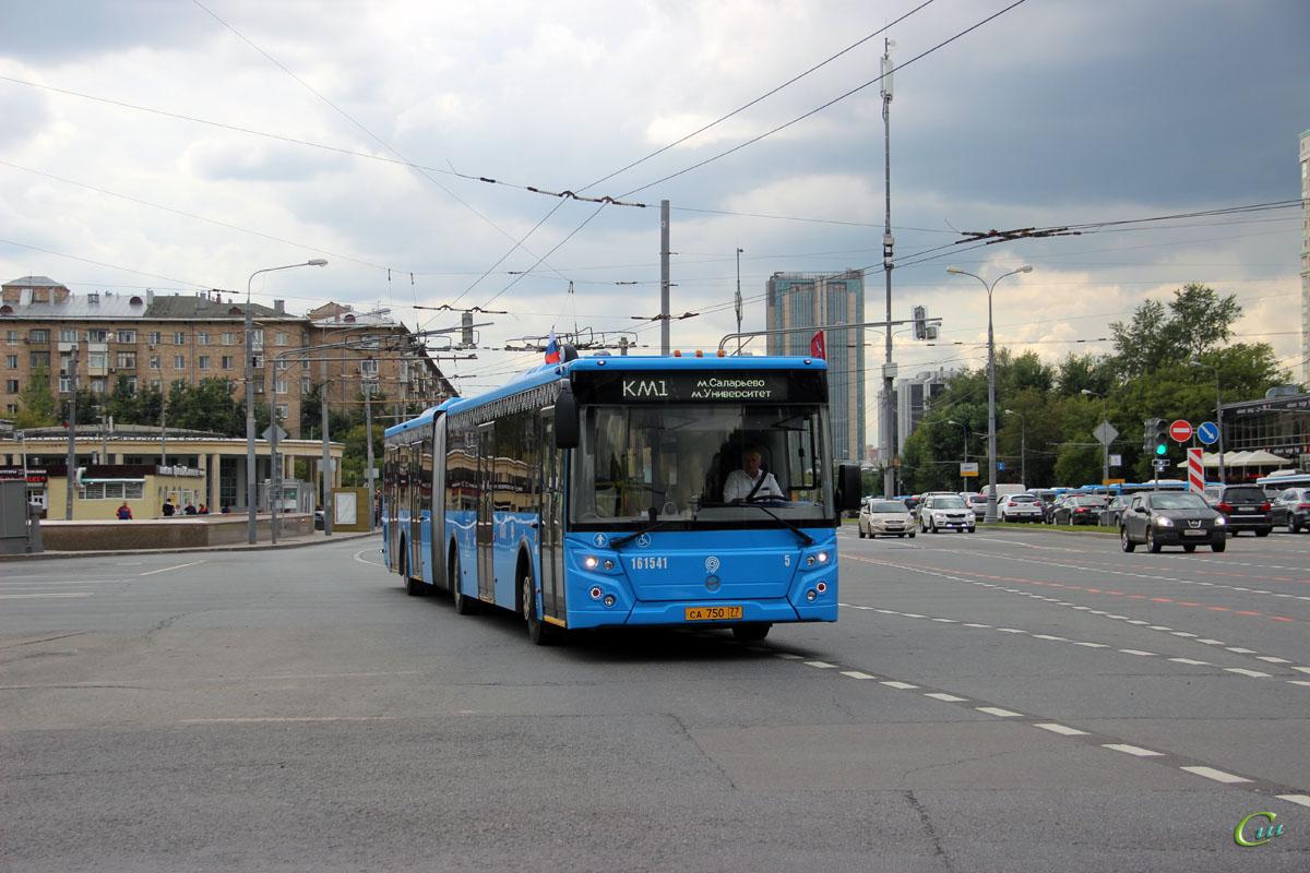 Москва. ЛиАЗ-6213.65 са750