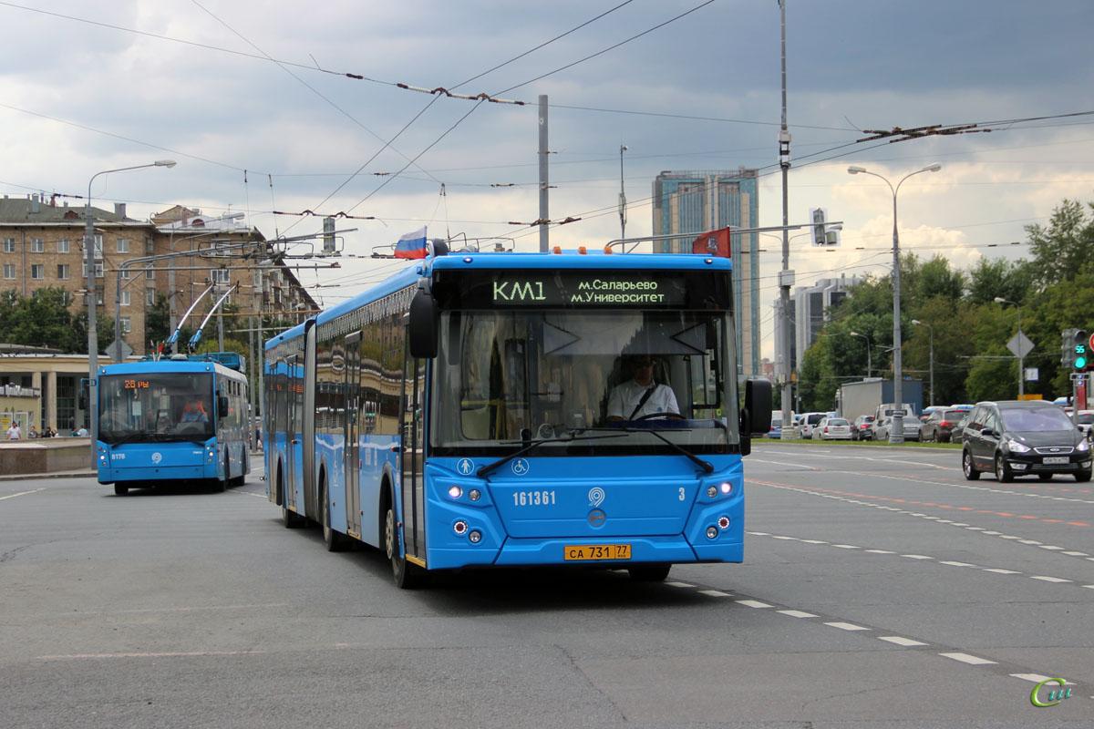 Москва. ЛиАЗ-6213.65 са731