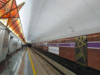 Санкт-Петербург. Станция Проспект Славы - одна из новых станций Фрунзенского Радиуса (5-я линия), которая была открыта 3 октября 2019 года