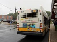 Бостон. New Flyer XN40 MBT 1606