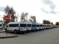 Обнинск. Стоянка маршрутных такси
