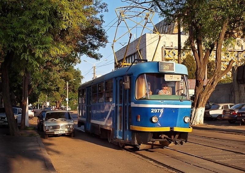 Одесса. Tatra T3R.P №2978