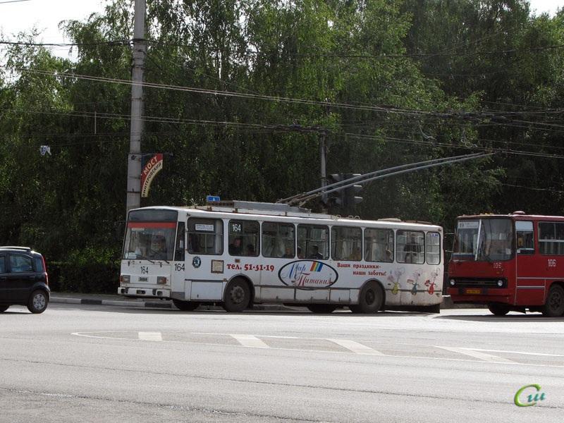 Вологда. Škoda 14TrM (ВМЗ) №164