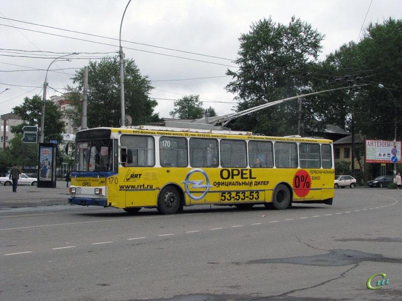 Вологда. Škoda 14TrM (ВМЗ) №170