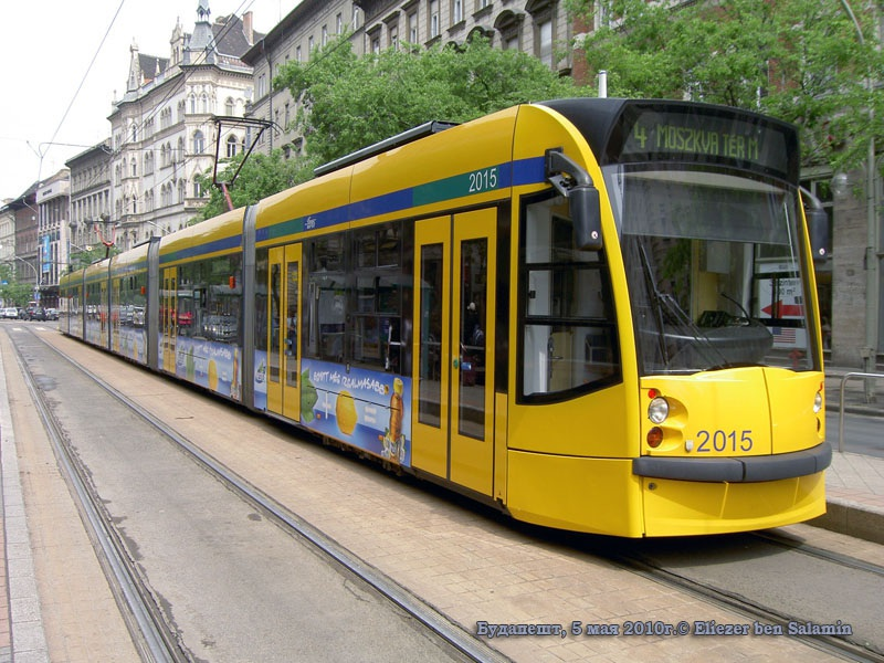 Будапешт. Siemens Combino Supra NF12B №2015