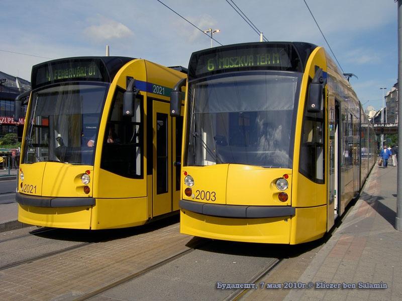 Будапешт. Siemens Combino Supra NF12B №2003, Siemens Combino Supra NF12B №2021