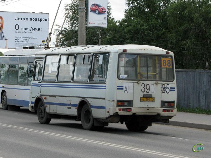 Вологда. ПАЗ-32054 ае390