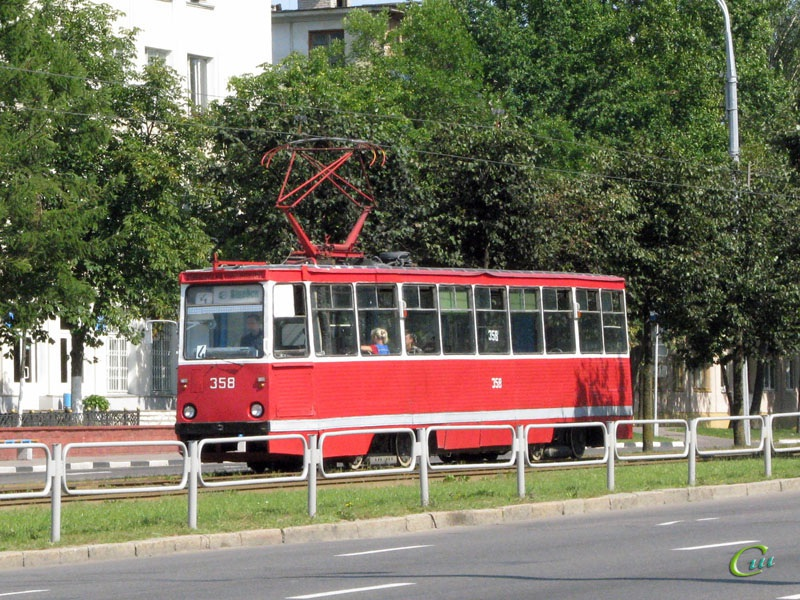 Витебск. 71-605 (КТМ-5) №358