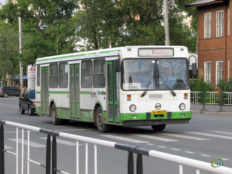 Вологда. ЛиАЗ-5256 аа890